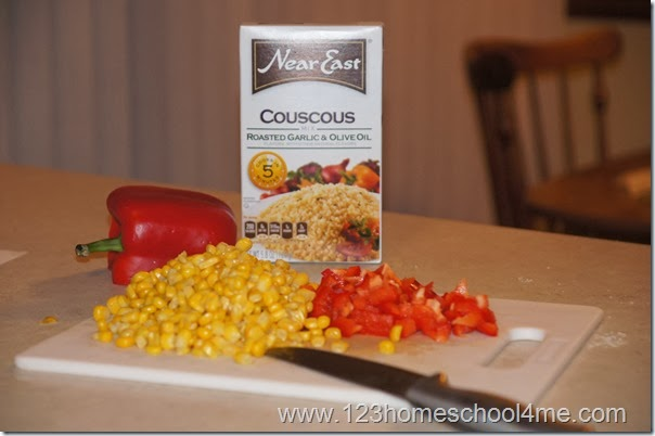 Confetti Couscouse Side Dish Recipe