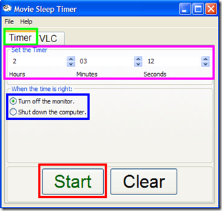 Movie Sleep Timer Timer