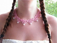 rózsaszín lánc