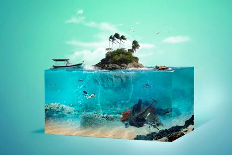 aquarium digital art