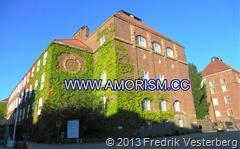 DSC09156 (1) Kungliga Tekniska Högskolan KTH fasad. Med amorism