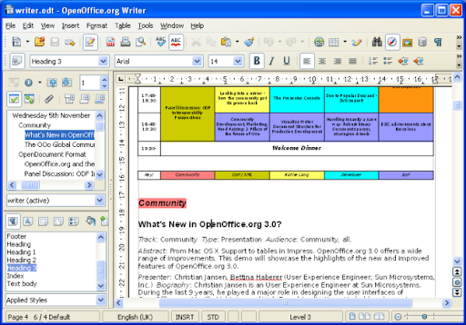 Descargar OpenOffice.org gratis