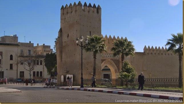 Antigua puerta y parte de muralla de acceso al Mellah o barrio judío