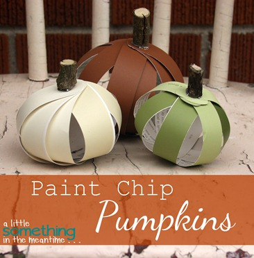 Paint Chip Pumpkins Banner WM