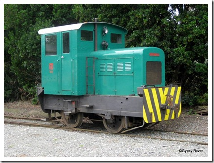 Ruston diesel shunter at Plains Museum, Ashburton.