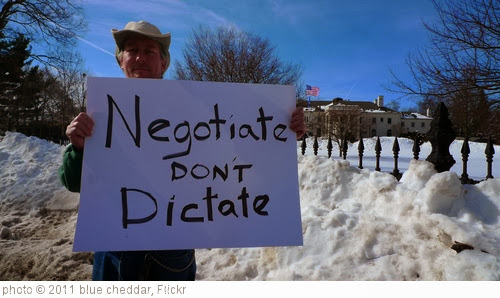 'Negotiate don't dictate' photo (c) 2011, blue cheddar - license: http://creativecommons.org/licenses/by/2.0/