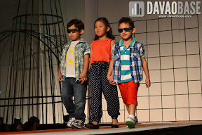 Kids wear during the Style Origin Fashion Show at Abreeza