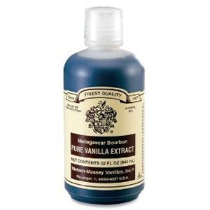 #1.  If I havent made my own Id give: Nielsen-Massey Pure Vanilla Extract.