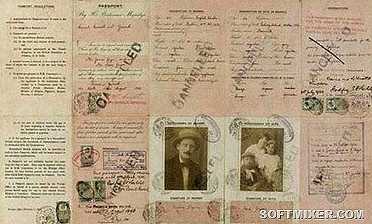 Паспорт-Джеймса-Джойса