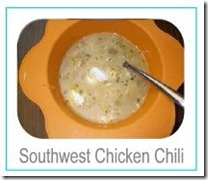southwest chicken chili button