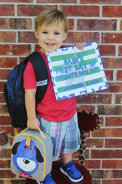 Nash's 1st day of School & Baylor Game 105