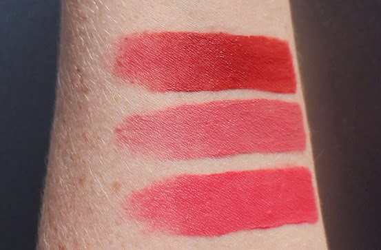 Bourjois-Rouge-Velvet-So-Happink,Dont-Pink-of-it, Beau-Brun-swatch-swatched-review,photos