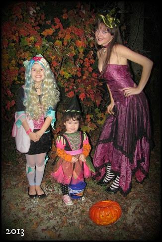 me girls halloween
