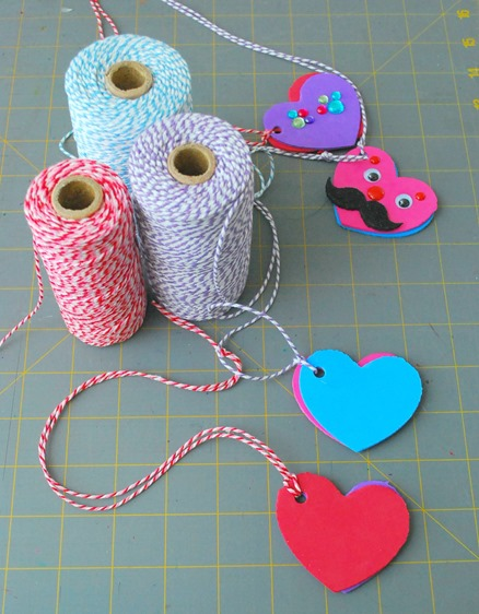 Foam Heart Locket 2