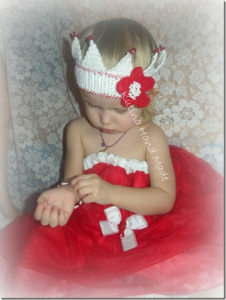 юбка красная принцесса 125