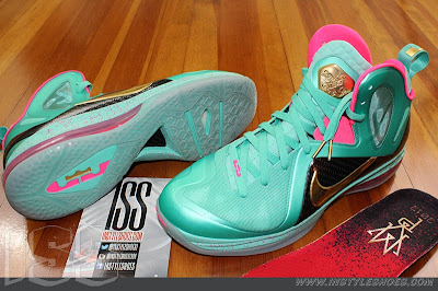 nike lebron 9 ps elite statue of liberty pe 3 08 Nike LeBron 9 PS Elite Statue of Liberty PE Has a Twin!