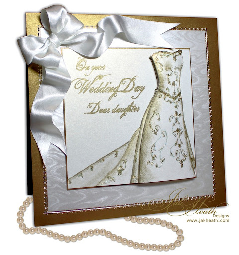Wedding Card Only one day away from my beautiful daughters Wedding Day