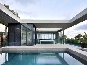 Casa minimalista costa d en blanes sct estudio mallorca - Casas minimalistas en espana ...