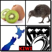 KIWI- 4 Pics 1 Word Answers 3 Letters