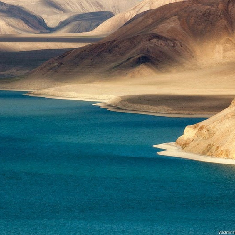Karakul Lake in Tajikistan