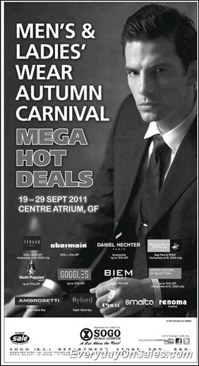 sogo-kl-mens-ladies-wear-autumn-carnival-mega-hot-deals-2011-EverydayOnSales-Warehouse-Sale-Promotion-Deal-Discount