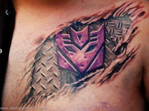 tatuagens ilusoes de otica optica ilusion tatoo desbaratinando  (7)