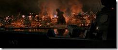 Godzilla GMK HD Burning Harbor