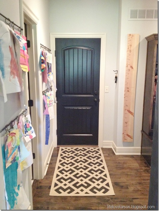 mudroom door black 1