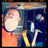 Stan and I take on the kitchen project.  Everything must go… and it did!
