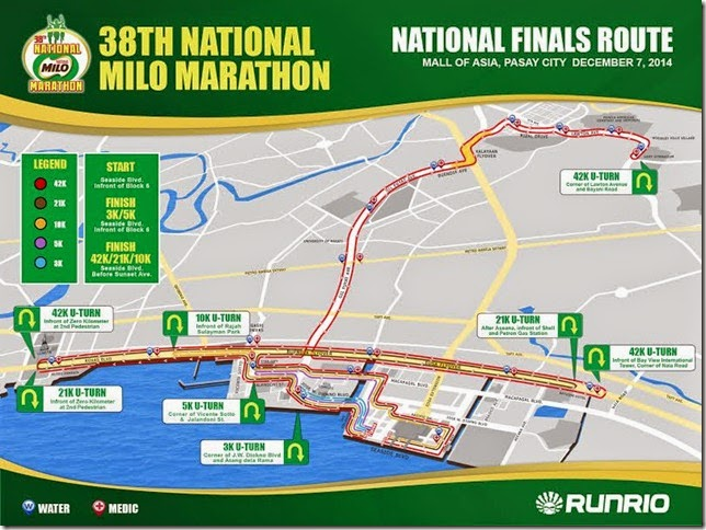 38TH NMM Route Map All Categories