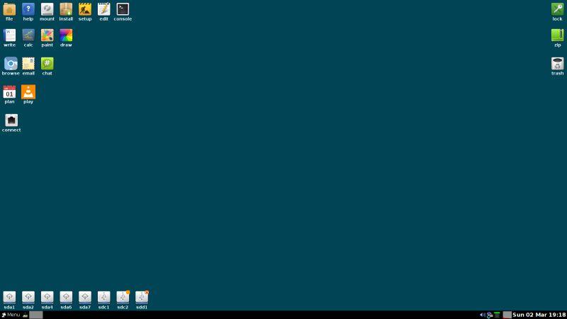 Blue Pup 4 Standard Desktop