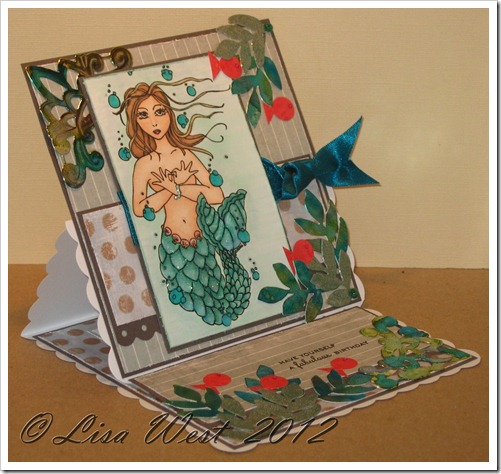 Mermaid Birthday Card (7)