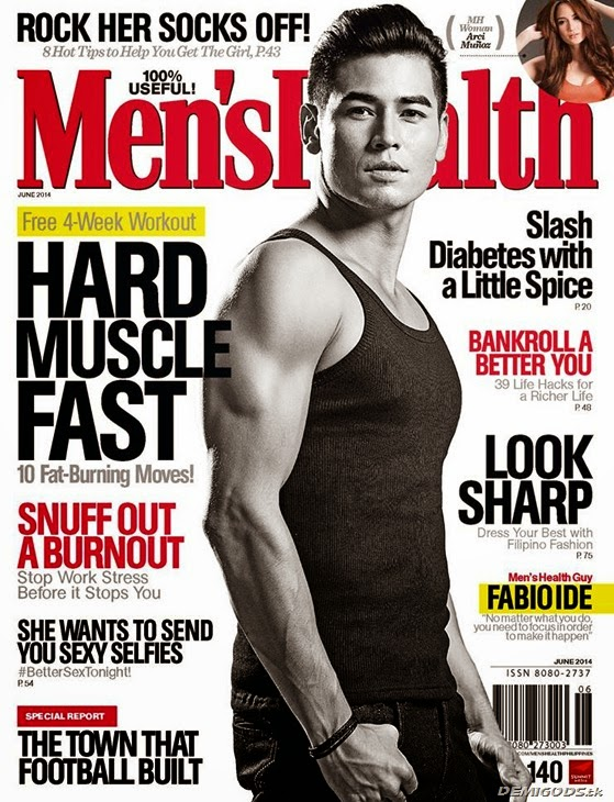Fabio Ide Men's Health Philippines June 2014