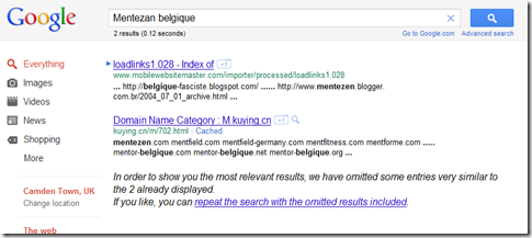 mentezan belgique - Google Search