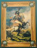 Gobelin 9036, Cavalier de la garde Iperiale, 200x150cm, 150x110cm