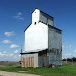 PaulAugust-Grain Elevator along Spine Line railroad tracks, n.jpg
