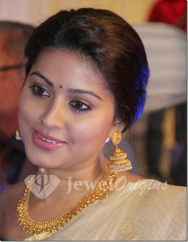 Sneha @ Lakshmi Ramakrishnan Daughter Wedding Reception Photos