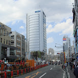 empty Harajuku street in Harajuku, Tokyo, Japan