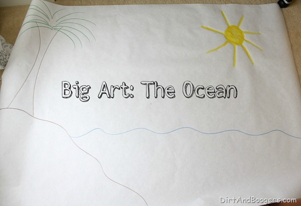 Big Art, ocean art,