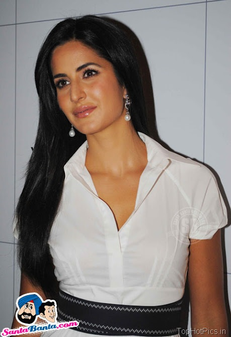 Katrina Kaif Hot Stills in White Stylish Dress 7