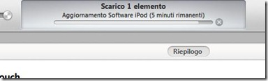 Aggiornamento Software iPod/iPhone/iPad