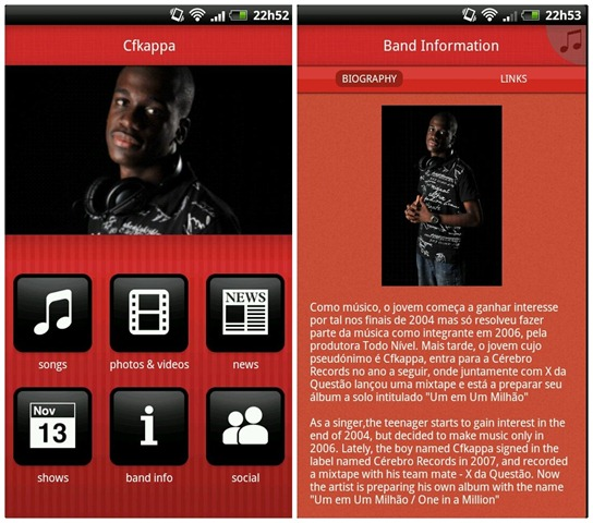 Cfkappa App