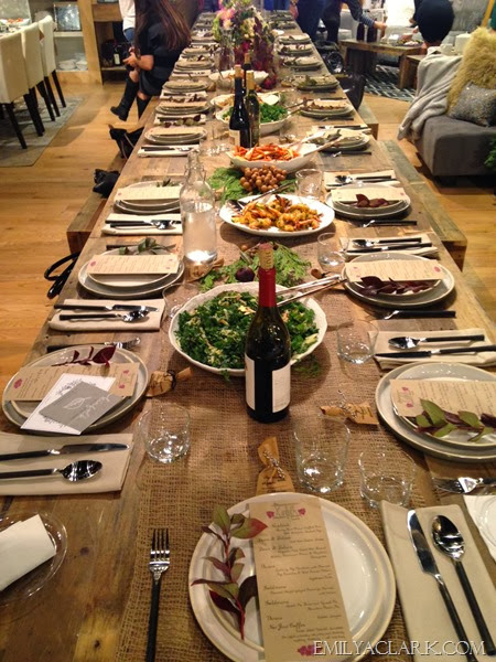 Kinfolk table setting
