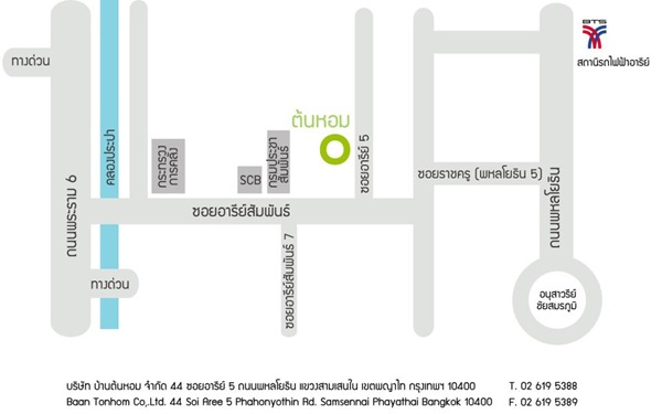 Tonhom Map
