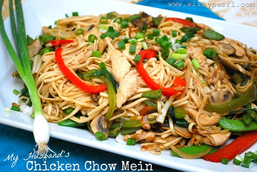 Chicken Chow Mein Recipe by The Silly Pearl SFSmarties