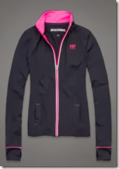 Abercrombie Active Zip Top