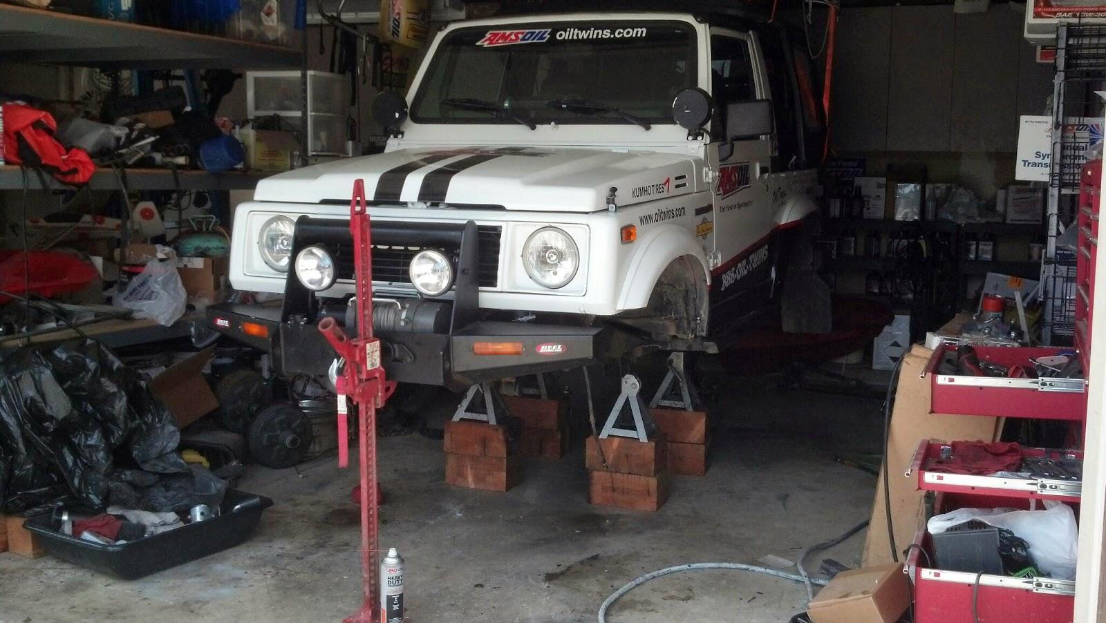 """Medford Car Dealers >> AMSOIL - """"Oil Twins"""", Independent Dealers: Oil Twins - AMSOIL Suzuki Samurai Epic Trek Upgrade ..."""