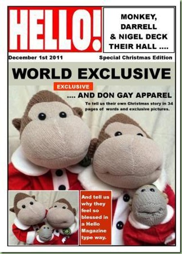 cHRISTMAS eDITION hELLO MAGAZINE