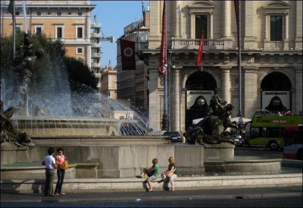 McDonald's, Piazza della Repubblica