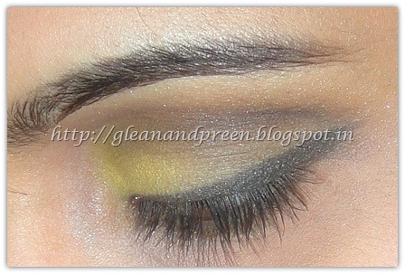 Yellow Smokey Eyes